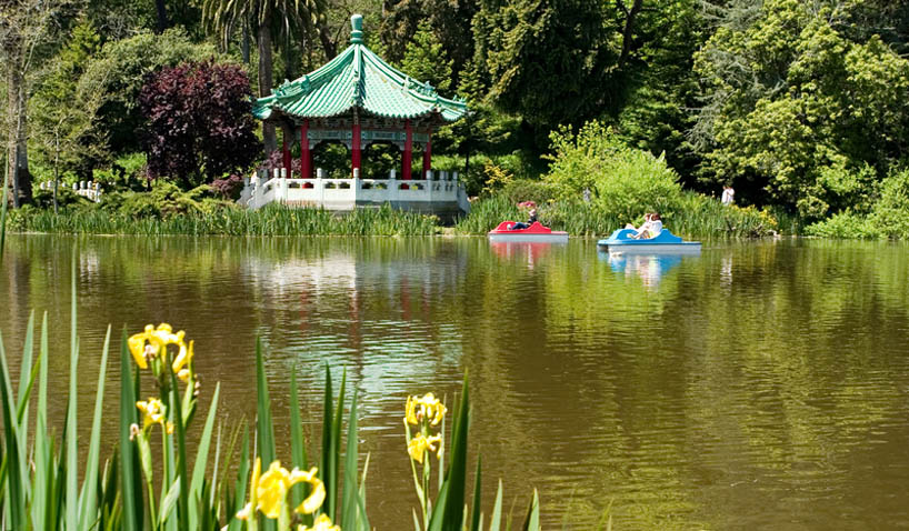 Stow Lake in Golden Gate Park, San Francisco